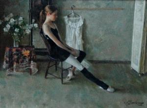 Portrait of Little Girl, Regan Boyse, by Joe Bowler