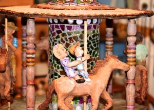 Carousel sculpture