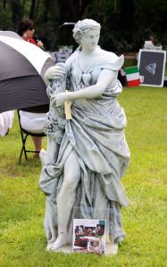 Italian Heritage Festival Statue