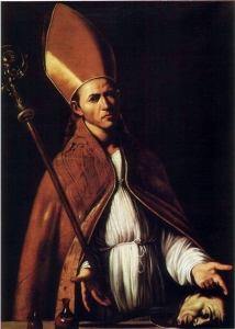 Painting of St. Januarious