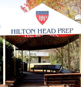 Entryway to Hilton Head Prep