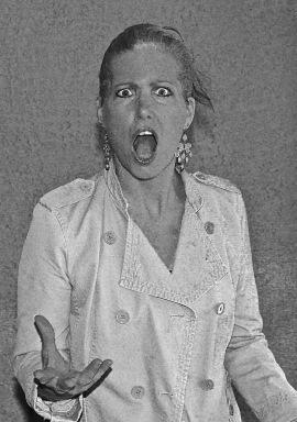 Carmen DeCecco in B&W