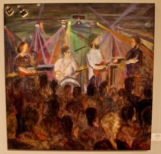 Oil on Canvas, Nancy Mitchell
